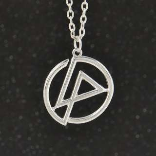 BN metal Linkin Park Bank Symbol Pendant Necklace long Chain Jewelry [MJN72]