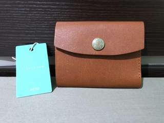 ad-lib leather card holder / wallet
