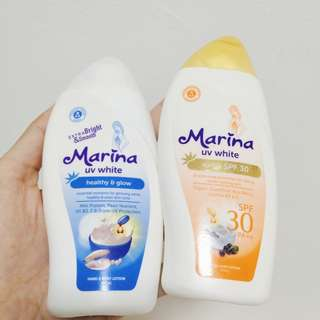 NEW! PAKET Marina UV White Body Lotion