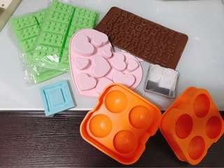 Heart letters Lego Silicone mold 心型 英文字母 龍珠 矽膠模