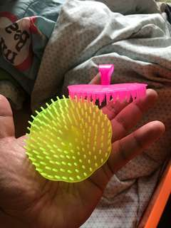 Hair comb brush. 1 pc random Color will be send