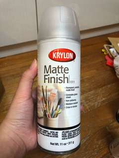 Krylon Matte Finish spray paint