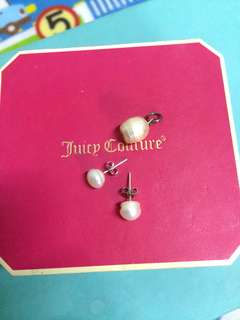 Authentic Pearl Earrings and Pendant