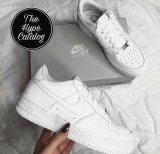 "(COD) Nike Air Force 1 Low ""Triple White"""