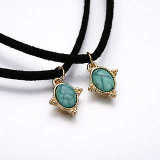 BN 3pcs/set Charming Bohemia Sexy Velvet Choker Necklace [MJN77]
