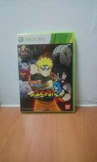 Naruto Shippuden Storm 3 Xbox 360