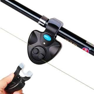 Electronic fish bite alarm with led. Free postage