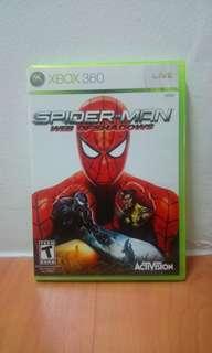 Spider-Man Web Of Shadows Xbox 360