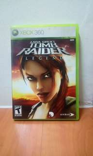 Lara Croft Tomb Raider Legend Xbox 360