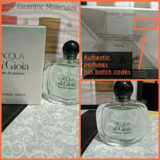 How to spot Authentic Giorgio Armani Ralph Lauren DKNY etc perfume