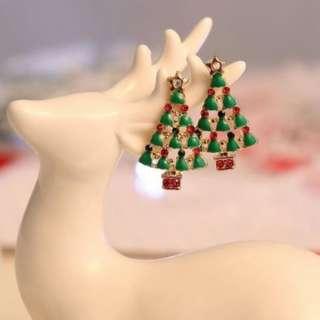 Cute Christmas Tree stud earrings