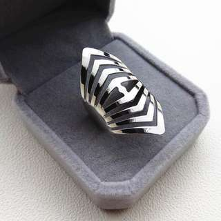 BN Fashion Open Band Adjustable Size Ring Modern Ring [MJN94]