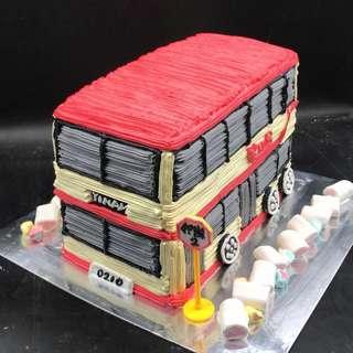 巴士 bus 交通工具 蛋糕 三磅
