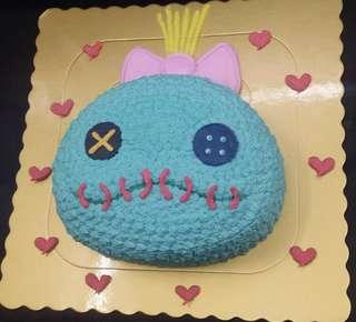 小金 小甘 stitch scrump 史迪仔 蛋糕 兩磅