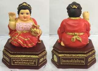 2557 古巴阿里雅猜 咩喃掘 招財女神 供奉型