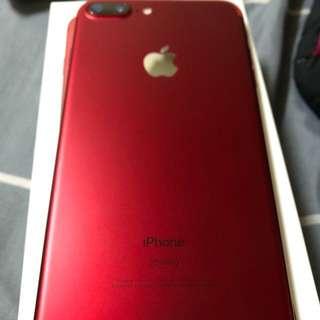 iphone7plus128g紅
