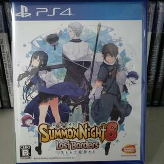 PS4 - Summon Night 6: Lost Borders (Japanese Ver.)