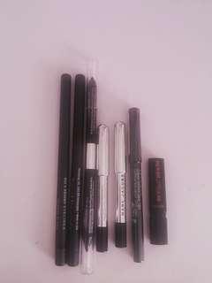 various eye pencils