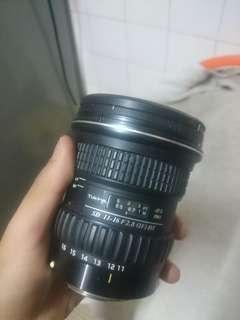 Price drop!!!Tokina 11-16mm canon ef-s