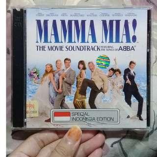 CD MAMMA MIA!THE MOVIE SOUNDTRACK