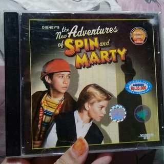 VCD THE ADVENTURES OF SPIN & MARTY