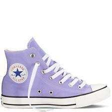 Converse Light Purple Hi-cut Sneakers