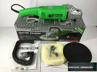 Hoyoma Japan Electric Polisher buffing machine