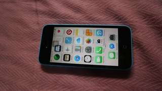 Iphone 5c in 16GB (globelocked)