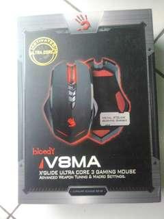 A4tech bloody v8ma makro gaming mouse bekas rasa baru