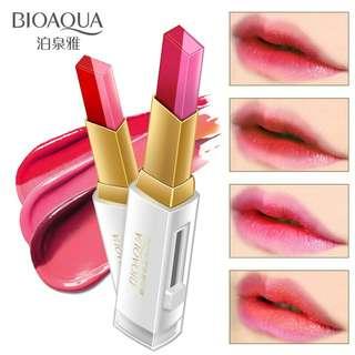 Bioaqua 2-tone Stereo color lipstick