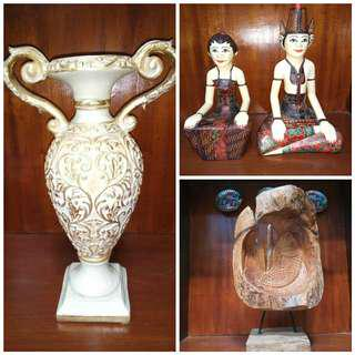 Patung kayu original take all