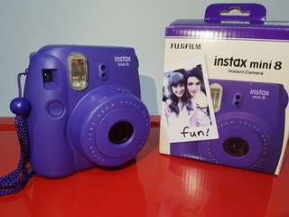 Fujifilm instax mini 8 purple Instant camera