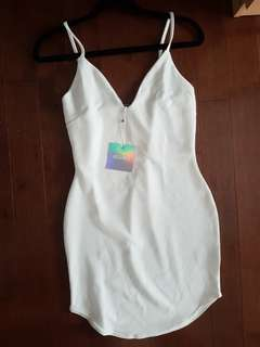 White dress from Missguided size small