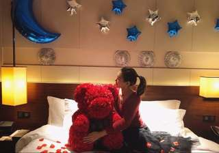 BACK BY POPULAR DEMAND CRAFTED TEDDY BEAR PROPOSE BIRTHDAY GIFT FOR HER