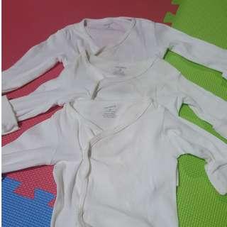SALE! Carters White Longsleeve Baru Baruan for Newborn