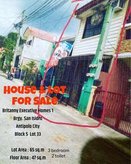 House and Lot For Sale Antipolo