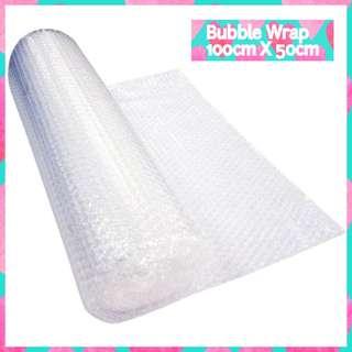 🚚 💟 Bubble Wrap 100cm X 50cm (1m X 0.5m) *FREE NORMAL MAIL!
