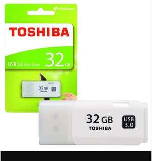 32gb Toshiba TransMemory USB 3.0 Flash Drive / Memory  Stick    ** USB 3.0 ** BNIP (few available)