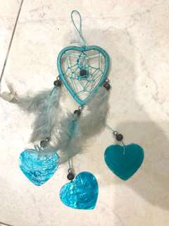 🚚 Turquoise heart Dream Catcher
