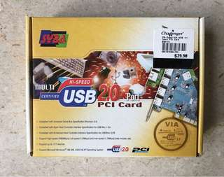 USB 2.0 PCI Card by VIA