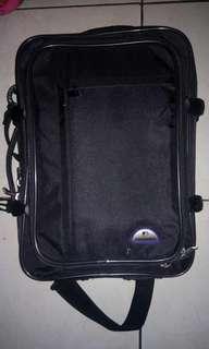 Tas laptop POLO WORLD ori (bisa slempang dan ransel)
