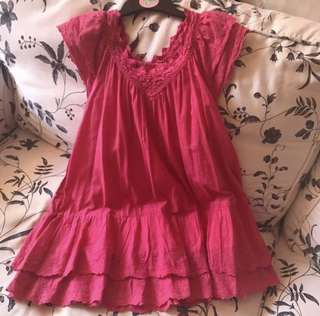 Little Girl Pink Dress (4-5Y)