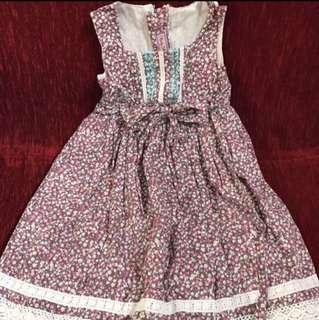 Party Princess Dress (size3) 3-6Y