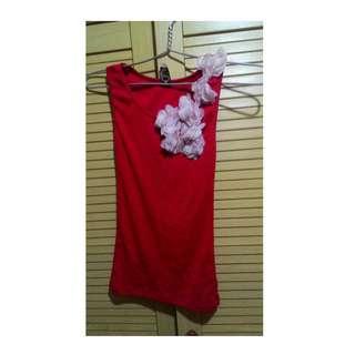 Red Flower tanktop