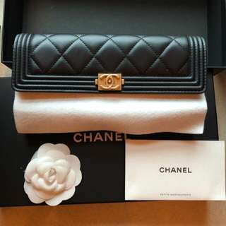 Chanel Wallet 100%real