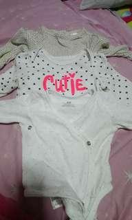 Baby gap,h&m Onesie baby girl take all