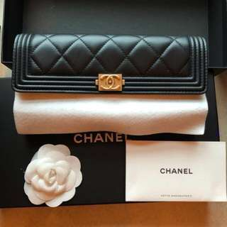 Chanel 銀包,99%new and real