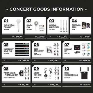 EXO Elyxion Dot Official Goods