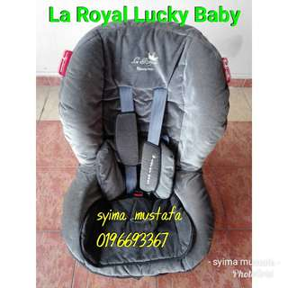 La Royal Lucky Baby car seat