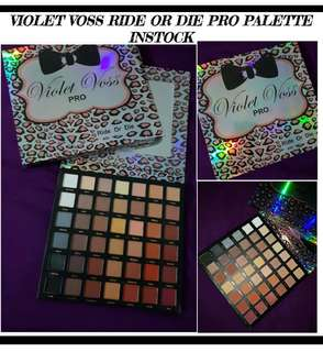 Violet Voss Ride Or Die Pallete